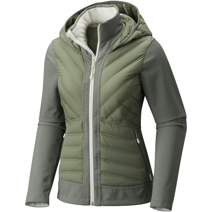 Mountain Hardwear Stretchdown HD Hooded Jacket - Womens