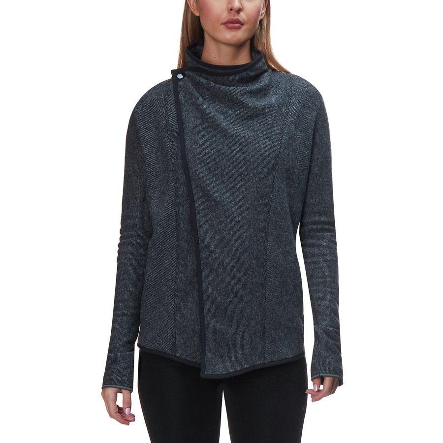 Mountain Hardwear Sarafin Wrap Sweater - Women's | Backcountry.com