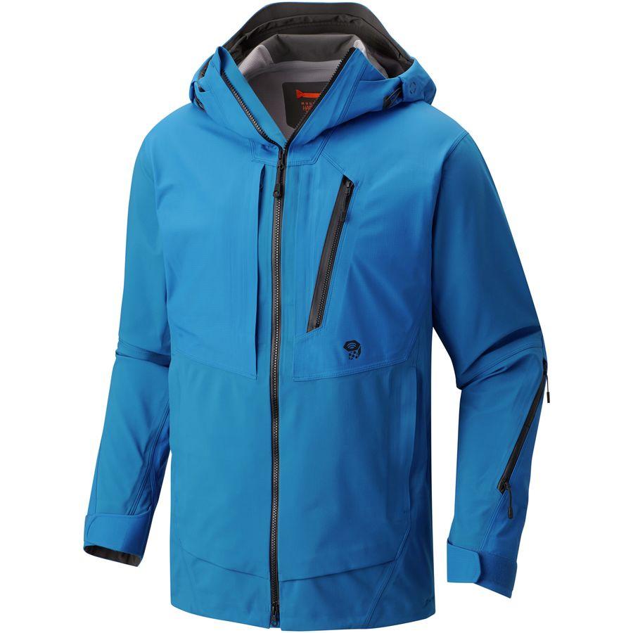 Mountain Hardwear - Boundaryseeker Neoshell Jacket - Men's - Altitude Blue