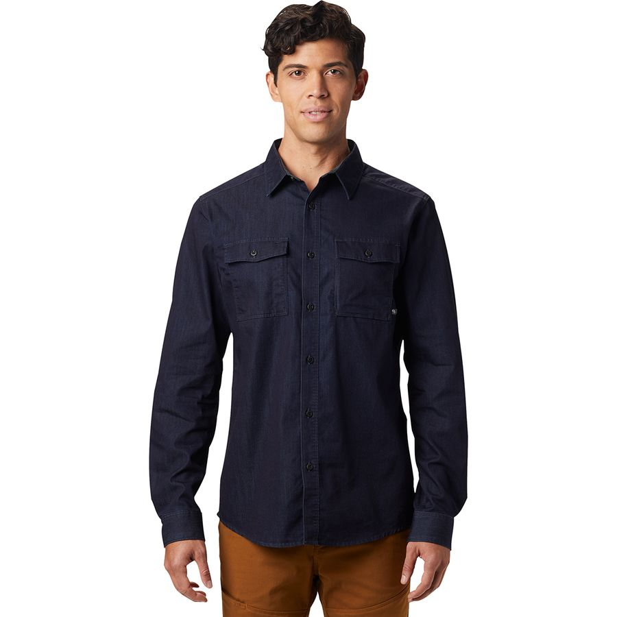0fc13be09ab Mountain Hardwear - Hardwear Denim Shirt - Men s - Dark Wash