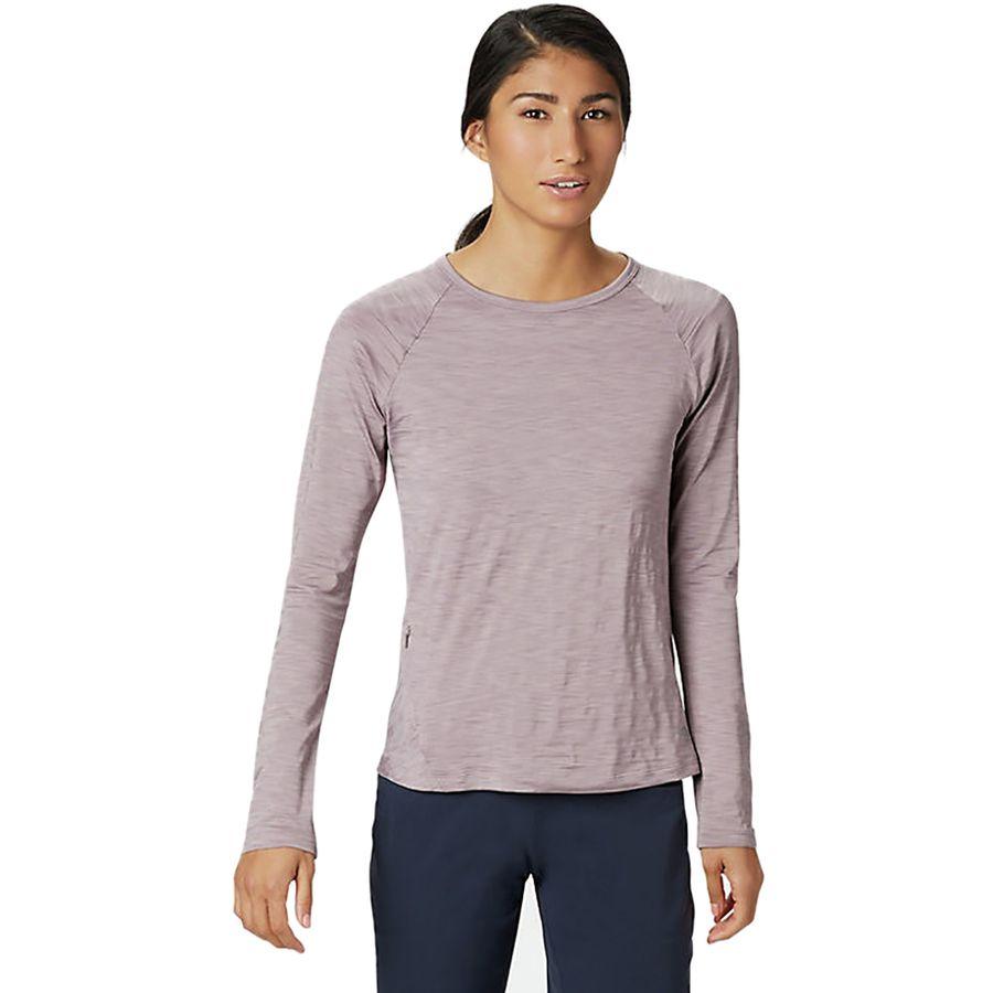 efa13ac25776 Mountain Hardwear - Mighty Stripe Long-Sleeve T-Shirt - Women's - Daze