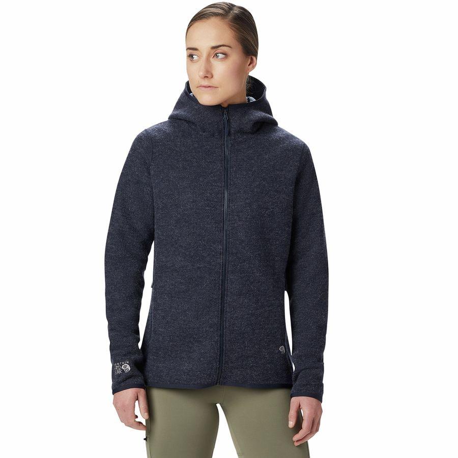 OTS Womens Fleece Full-Zip Hoodie