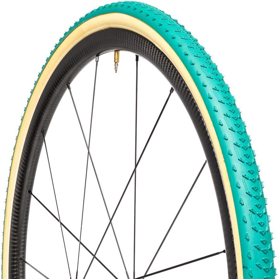 Folding Tubular Green//Tan Michelin Power Cyclocross Mud Tire 700 x 33