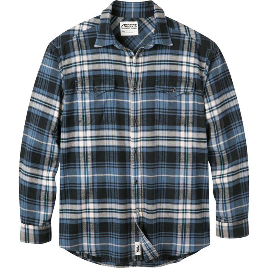 Mountain Khakis Teton Flannel Shirt - Mens