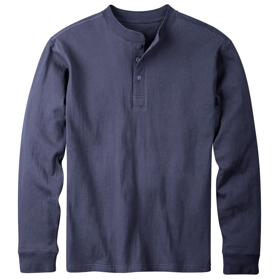 A henley does the usual plain t-shirt one better with its ability to combine fashion and comfort. Henleys usually have buttons, can come in both long-sleeve and short-sleeve styles, and they.