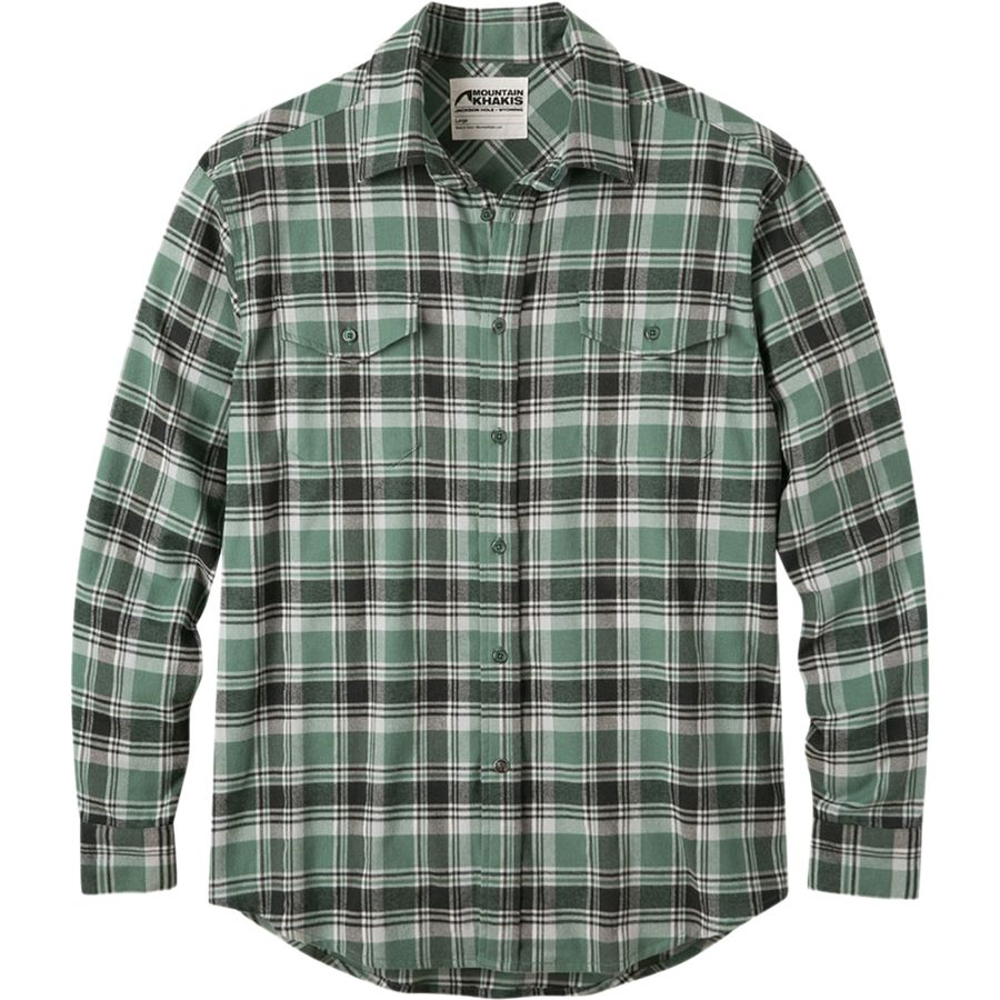 Mountain Khakis Peaks Flannel Shirt - Mens