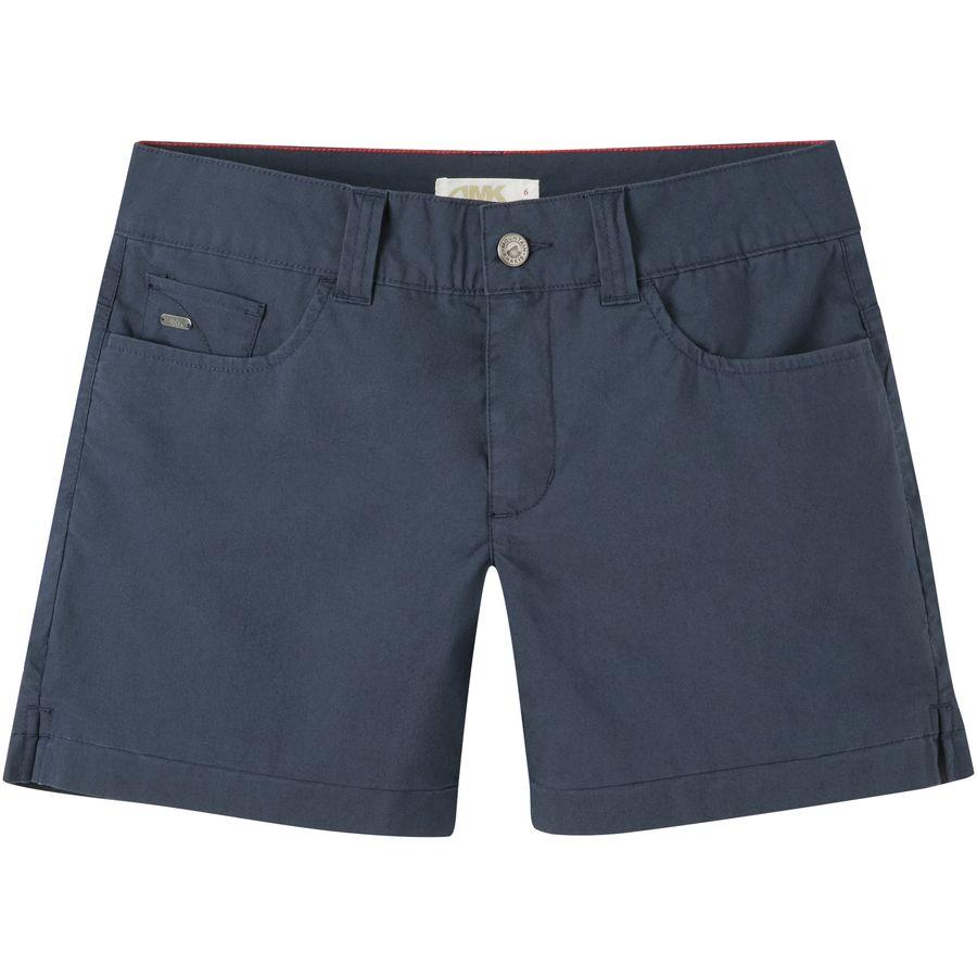 Mountain Khakis Poplin 5in Slim Fit Short - Womens