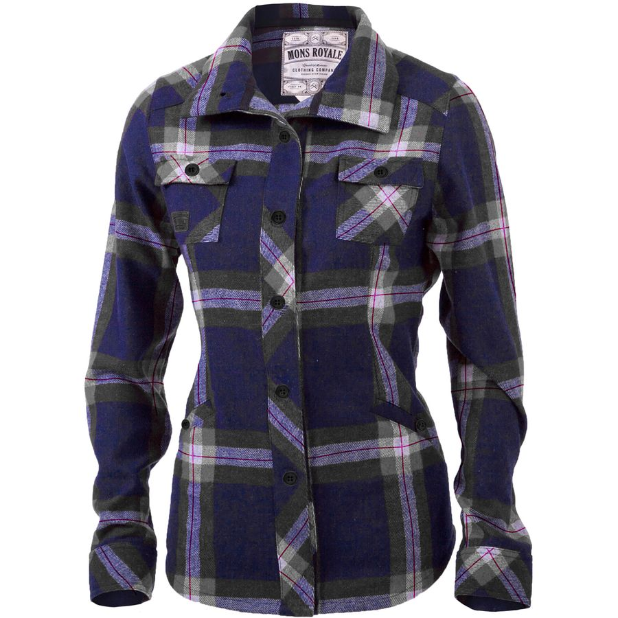 Mons Royale Mountain Shirt - Womens