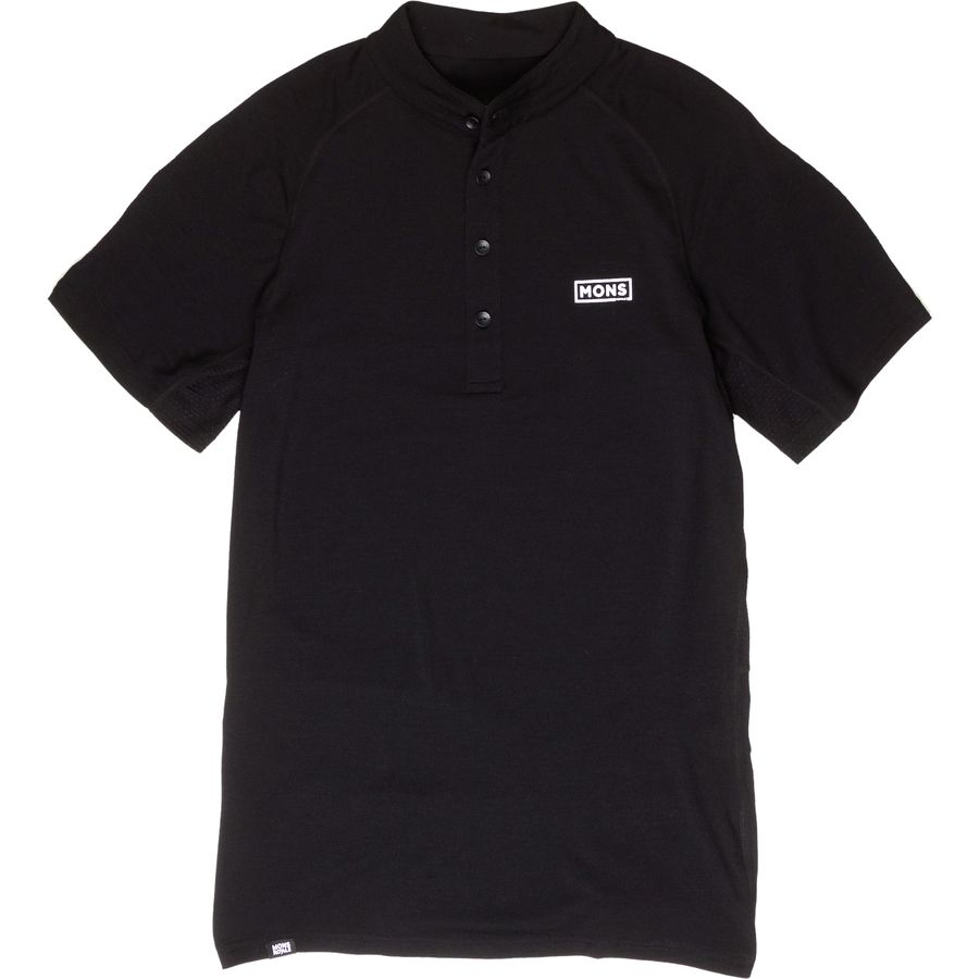 Mons Royale Redwood Polo Shirt - Mens