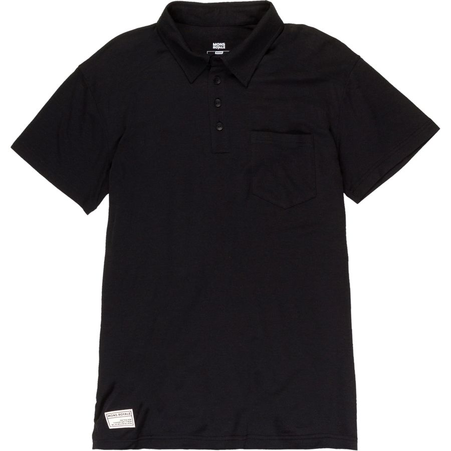 Mons Royale Not Your Dads Polo Shirt - Mens