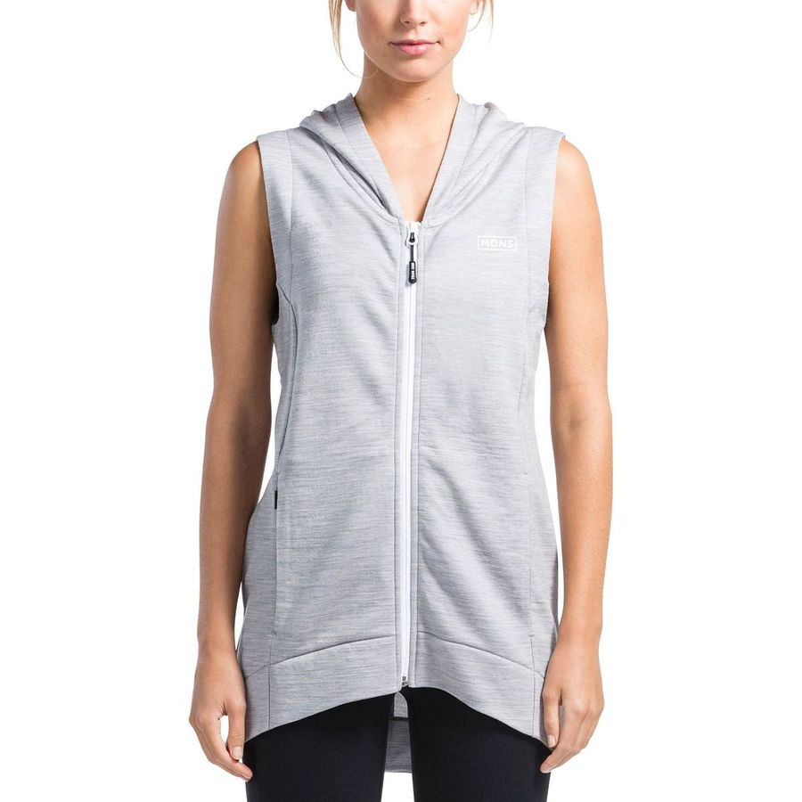 Mons Royale Brook Hooded Vest - Womens