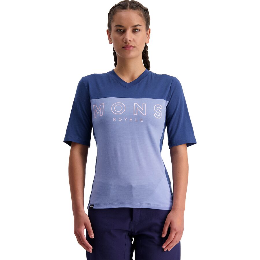 Mons Royale Redwood Enduro VT Short-Sleeve Jersey - Womens