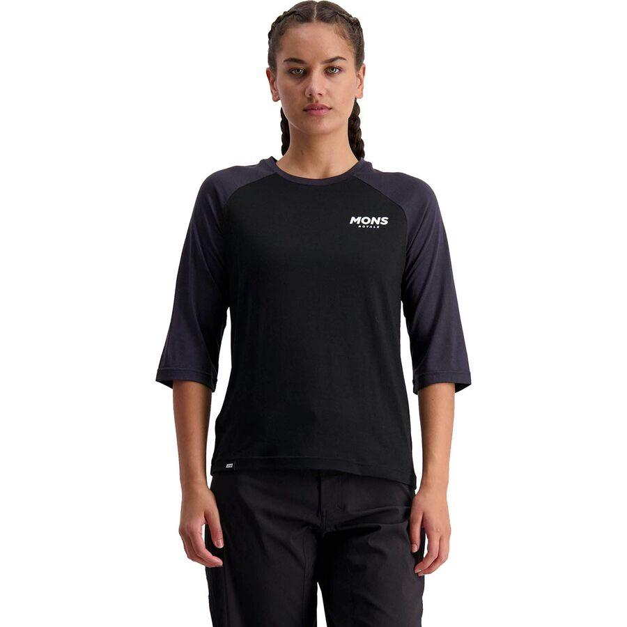 Mons Royale Tarn Freeride Raglan 3/4-Sleeve Jersey - Womens