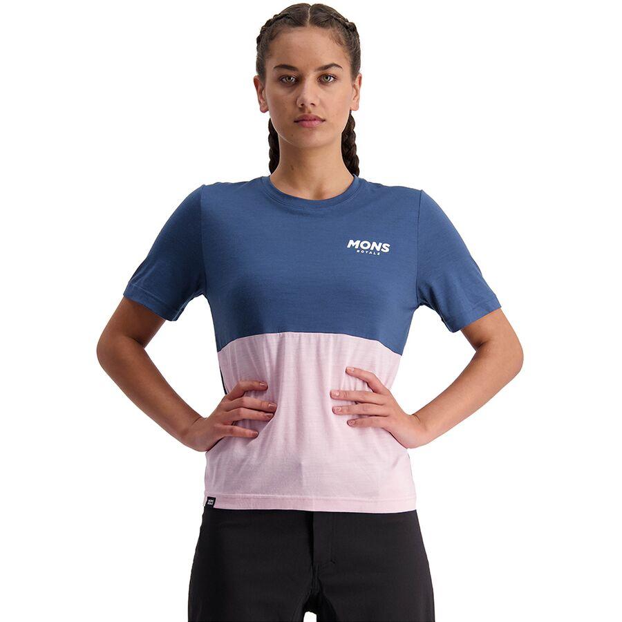 Mons Royale Tarn Freeride Short-Sleeve Jersey - Womens