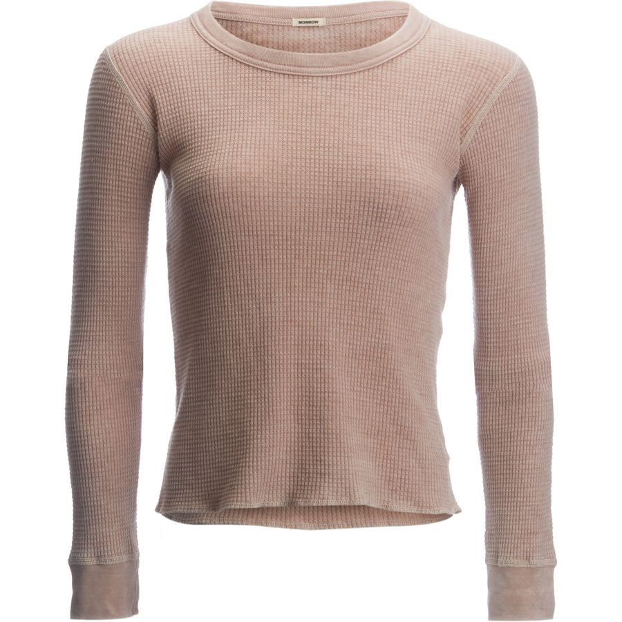 Monrow Thermal Shirt Women 39 S Up To 70 Off Steep And
