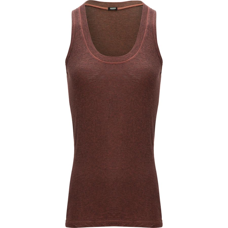 Monrow Granite Narrow Tank Top - Womens