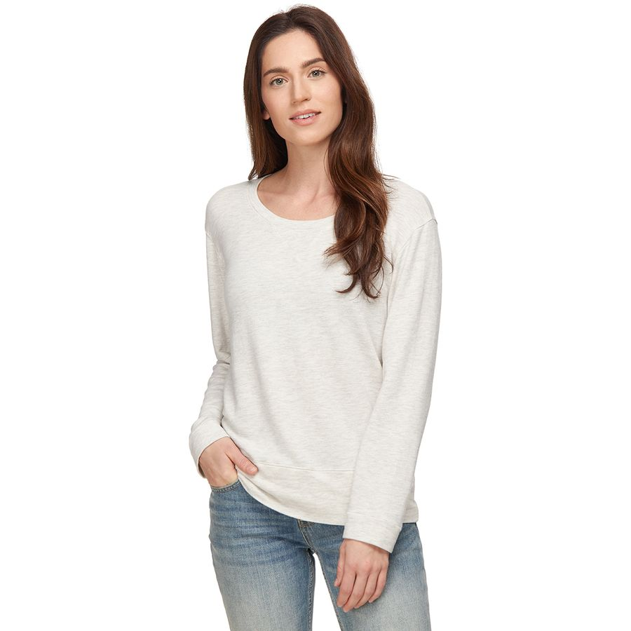 Monrow Super Soft Crew Sweatshirt - Womens