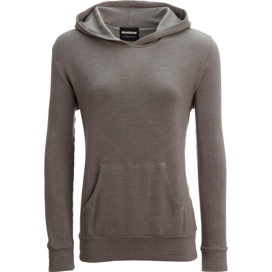 Monrow Super Soft Kangaroo Pullover Sweatshirt - Womens
