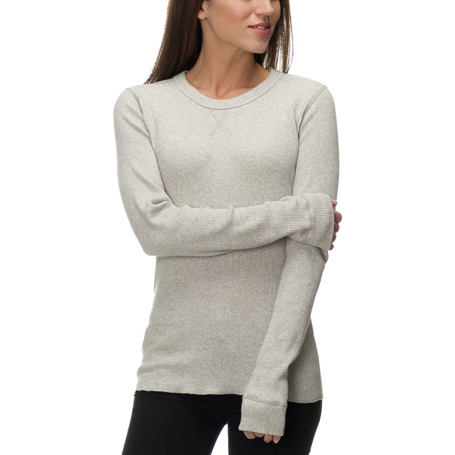 Monrow Supersoft Crew Neck Sweater - Womens