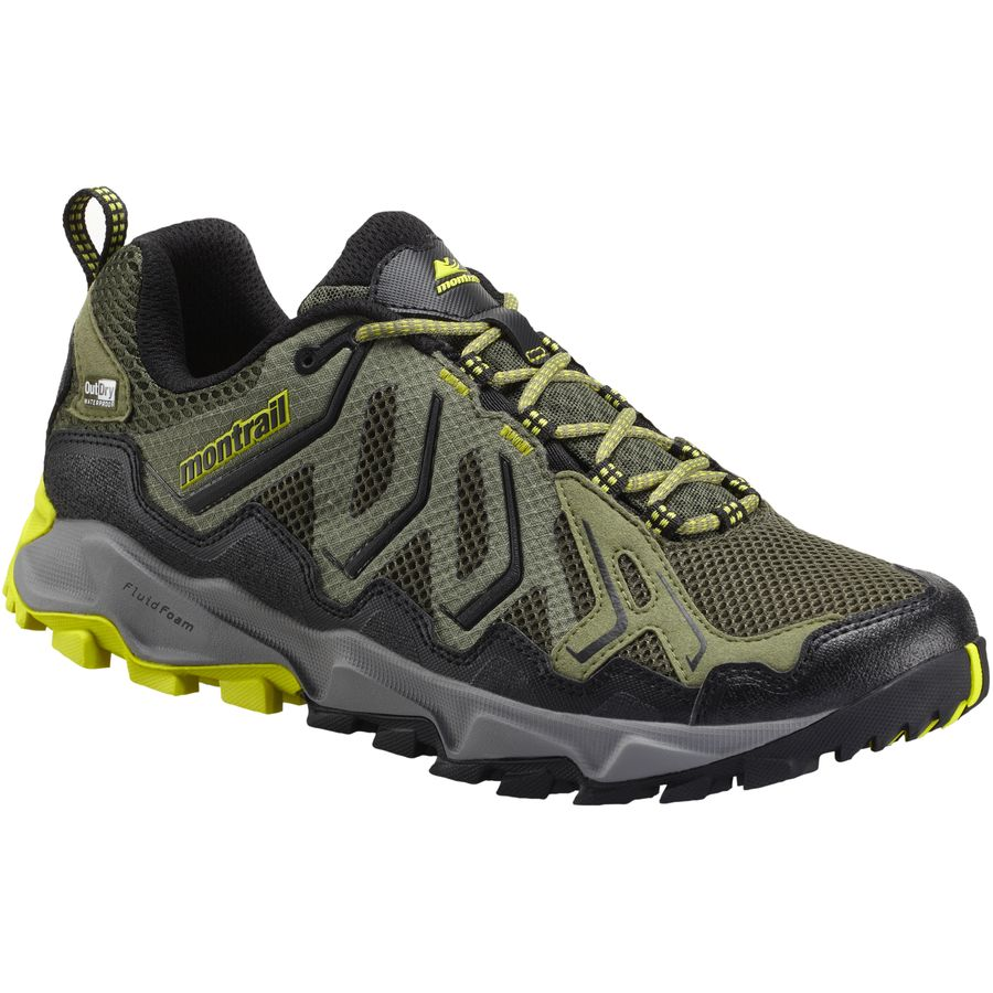 Montrail Trans Alps OutDry Trail Running Shoe - Mens