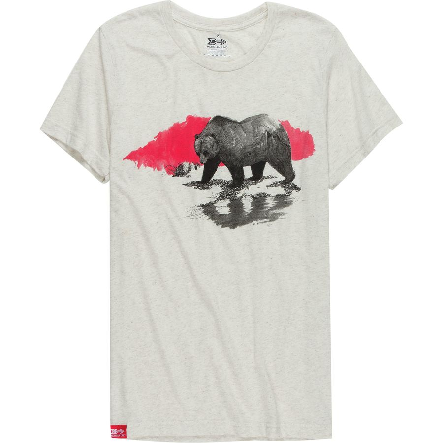 Meridian Line Grizzly T-Shirt - Mens