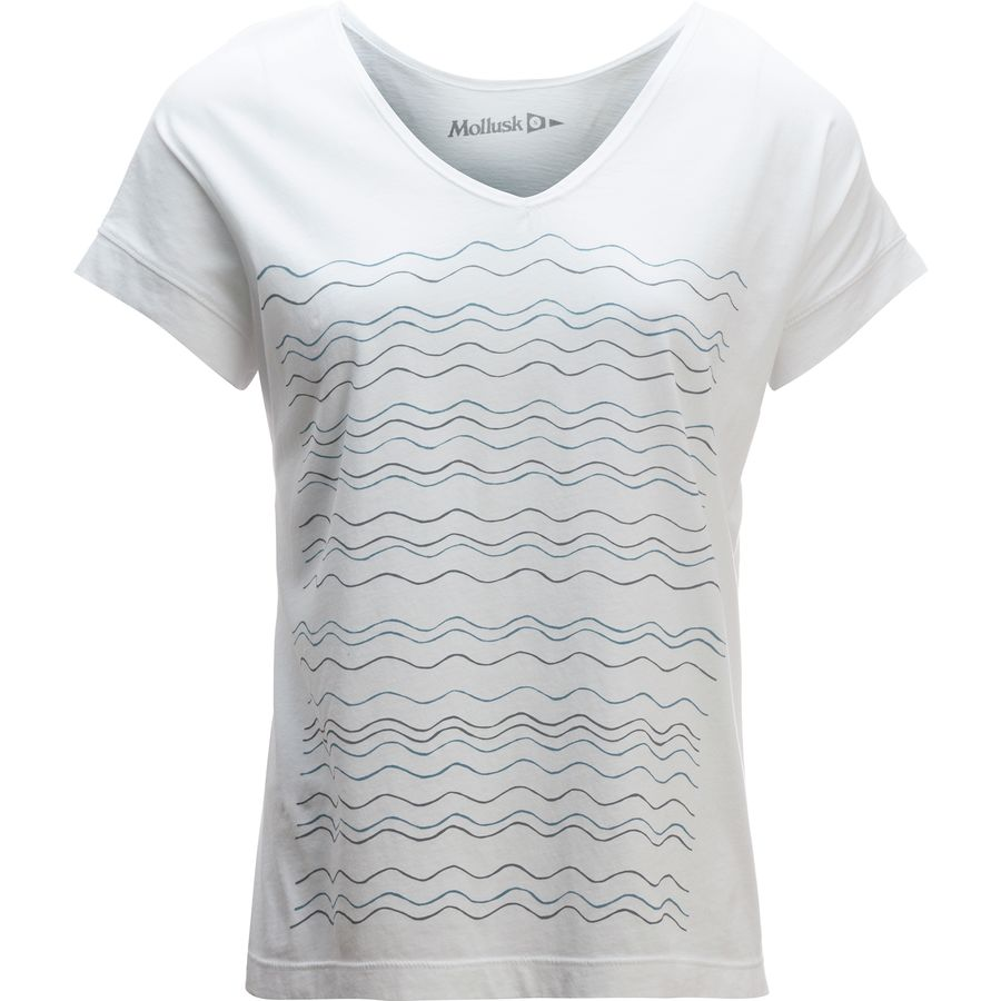 Mollusk New Wavy T-Shirt - Womens