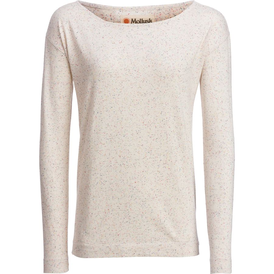 Mollusk Boat Neck Long-Sleeve T-Shirt - Womens