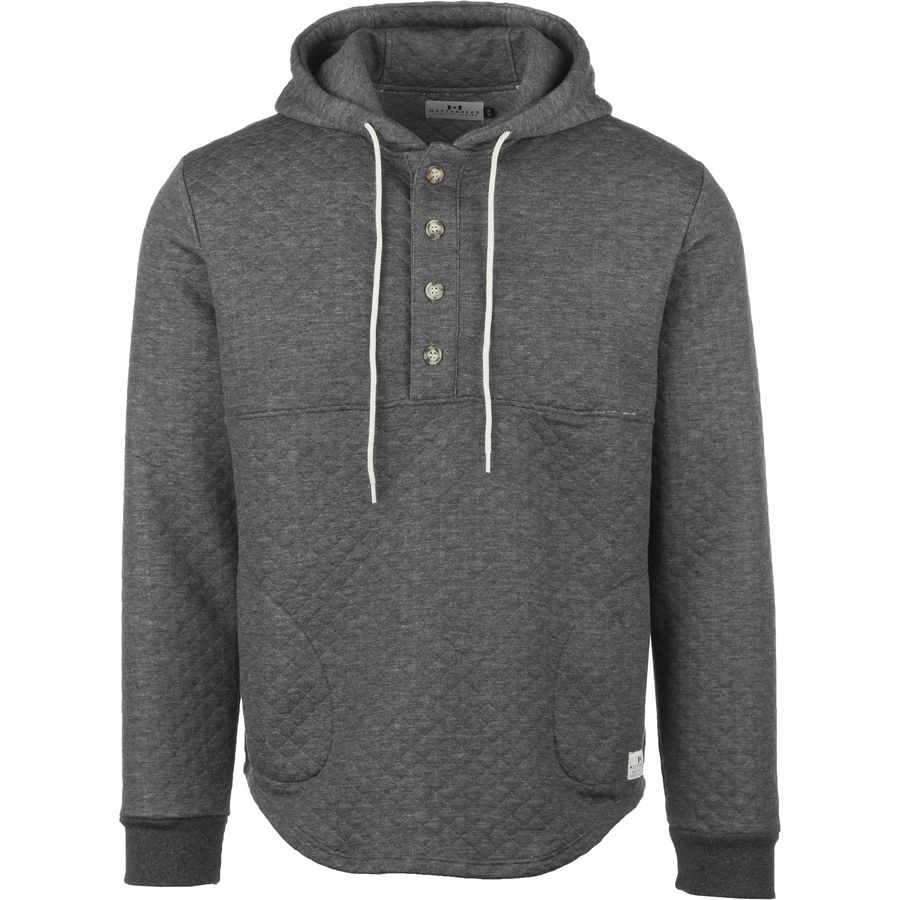 Muttonhead Quilted Camping Hooded Fleece Pullover - Mens
