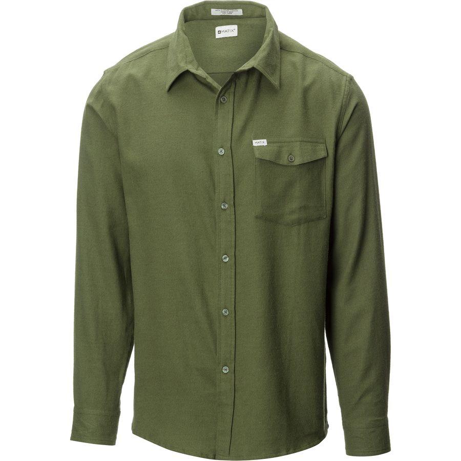 Matix Phase Flannel Shirt - Mens