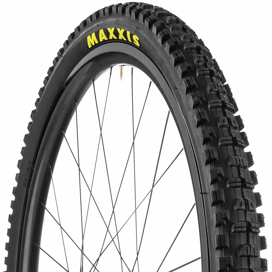 Folding Dual Clincher 24 x 2.3 Black Maxxis Minion DHR II Tire