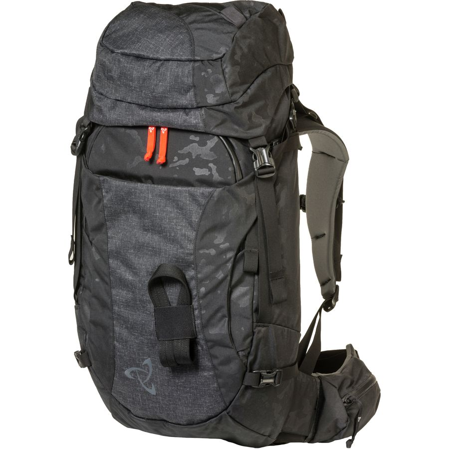62514a8e832 Mystery Ranch - Patrol 45L Backpack - Black Emboss