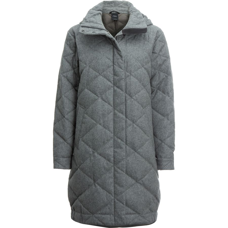 NAU Cocoon Wool DownTrench Jacket - Womens