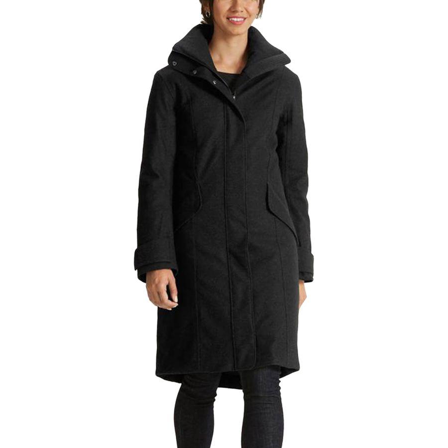 NAU Prato Wool Down Trench Jacket - Womens