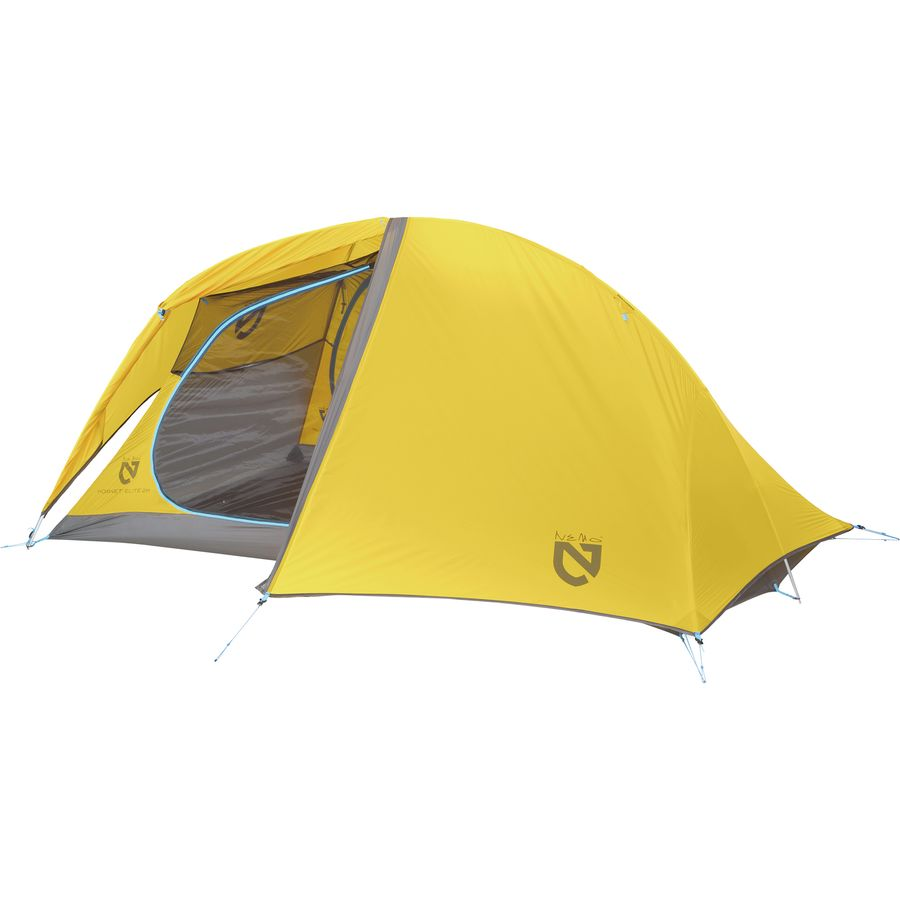 NEMO Equipment Inc. - Hornet Elite 2P Tent 2-Person 3-Season  sc 1 st  Steep u0026 Cheap : backpacking tents 2 person - afamca.org