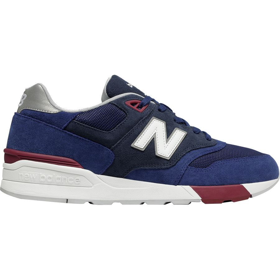 New Balance - 597 Modern Classic Shoe - Men's - Tempest/Mercury Red