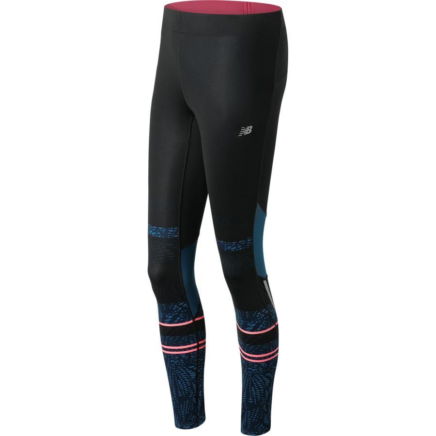 New Balance Impact Premium Printed Tight - Womens