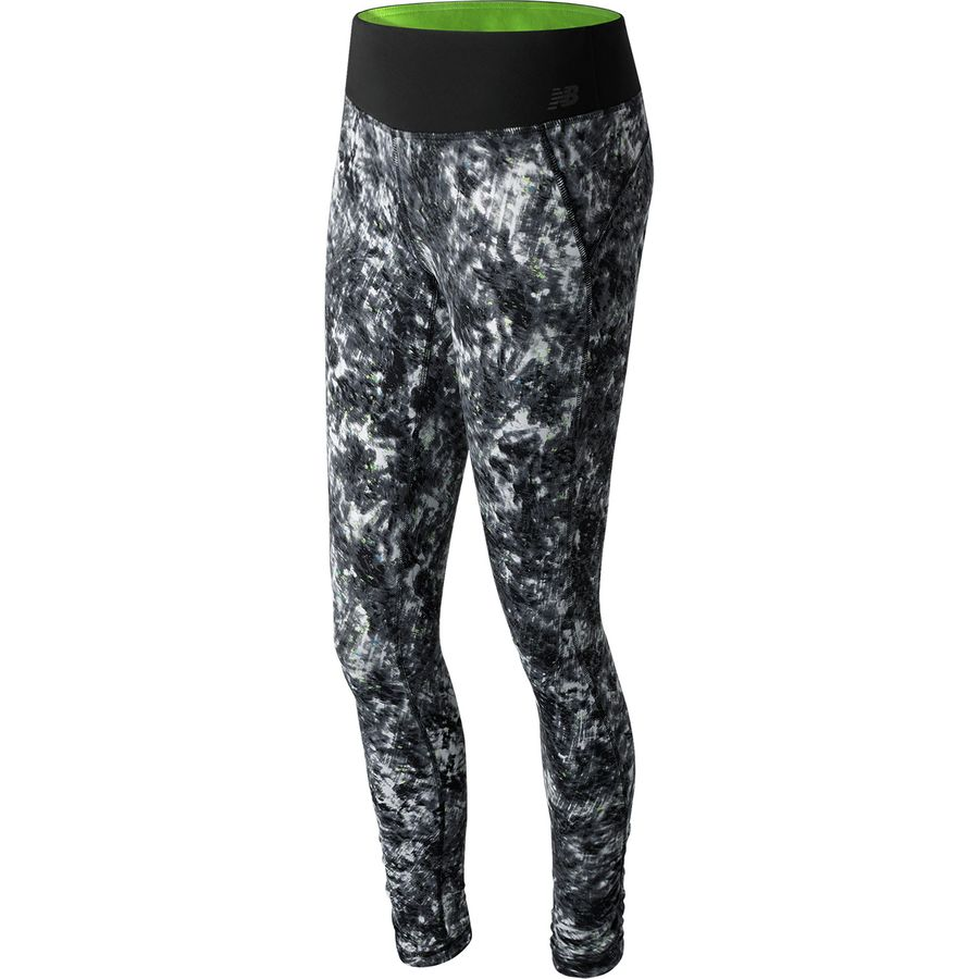 New Balance Premium Performance Printed Tight - Womens
