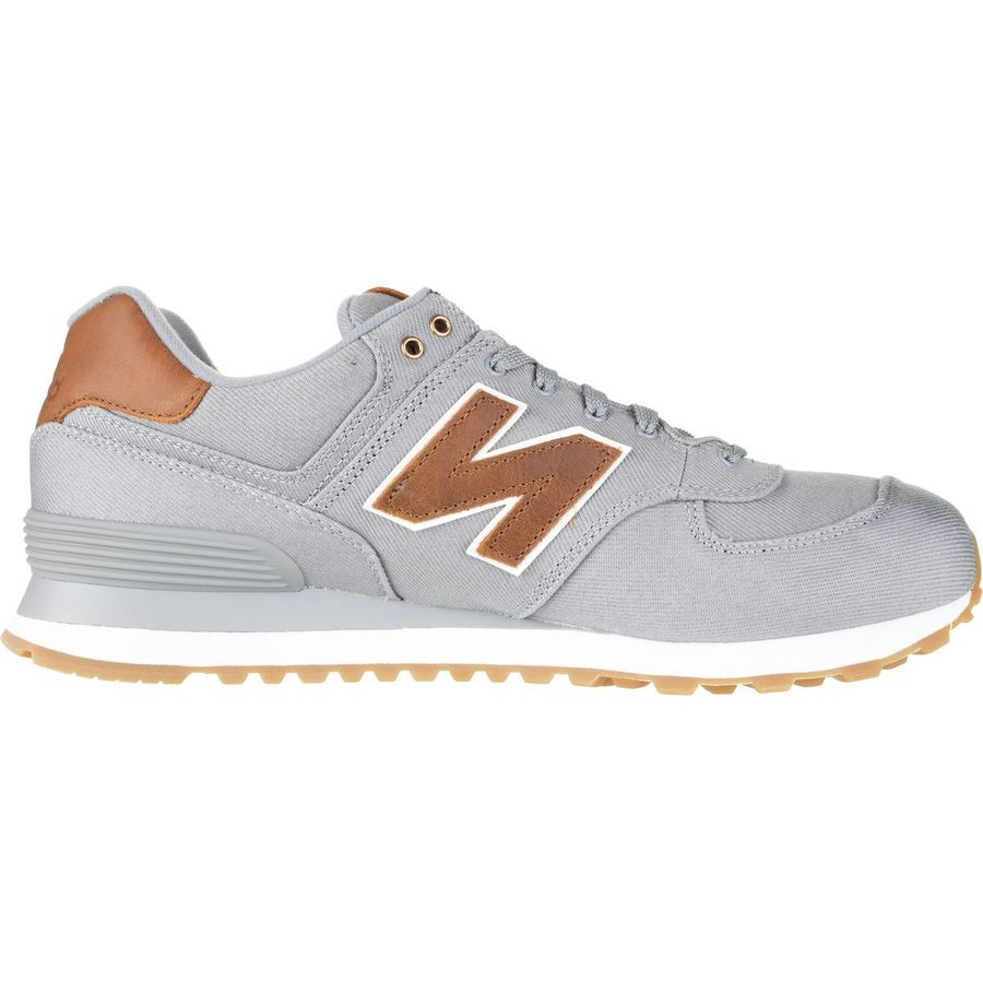 New Balance 574 15-Ounce Canvas Shoe - Mens