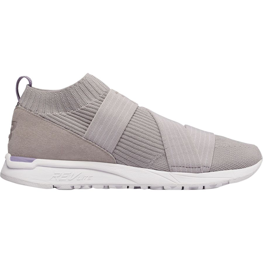 New Balance - 247 Knit Slip-On Shoe - Women s - Overcast b3f0c8b70f