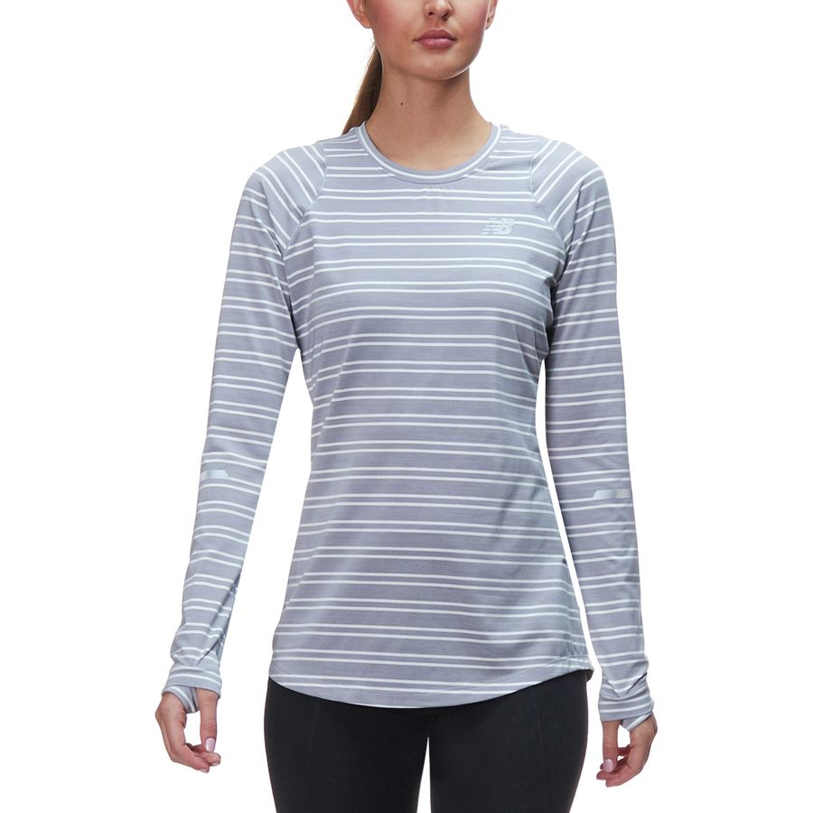3a57b4eb3a New Balance Seasonless Long-Sleeve Top - Women's