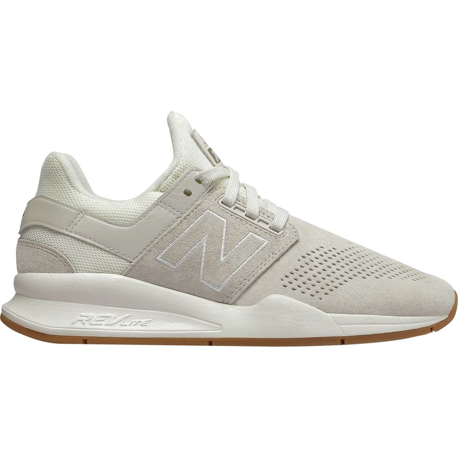 New Balance - 247 Nubuck Sneaker - Women s - Sea Salt Flat White 2922ff9169