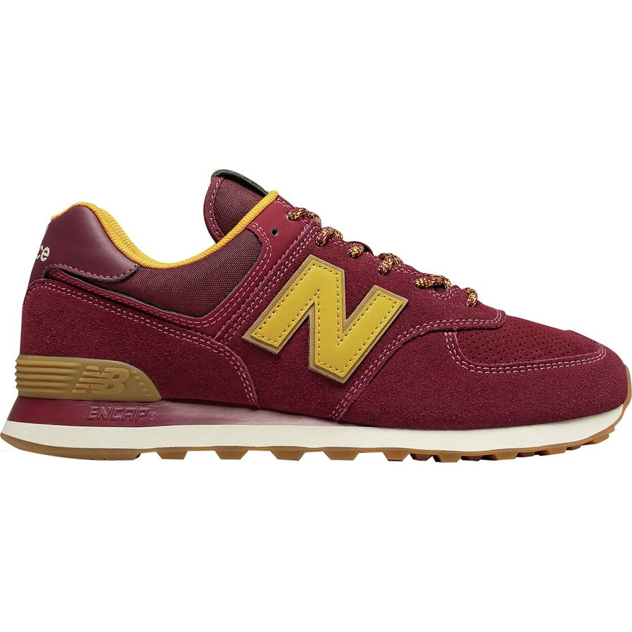 08a54b3fd31 New Balance - 574 Trail Shoe - Men's - Mercury Red/Gold Rush