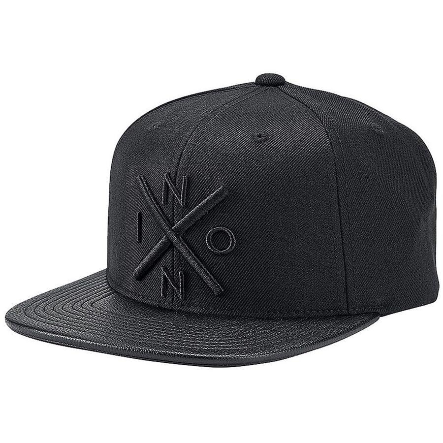 Nixon - Exchange Snapback Hat - Men s - All Black Black d321f56a4f2