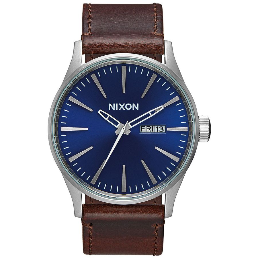 8a5fa1a8d Nixon Sentry Leather Watch - Men's | Backcountry.com