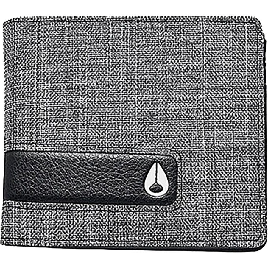 Nixon Showtime Bi-Fold Zip Wallet - Mens