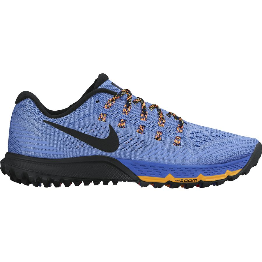 Nike - Air Zoom Terra Kiger 3 Trail Running Shoe - Women's - Chalk Blue/ Racer Blue/Hyper Orange/Black
