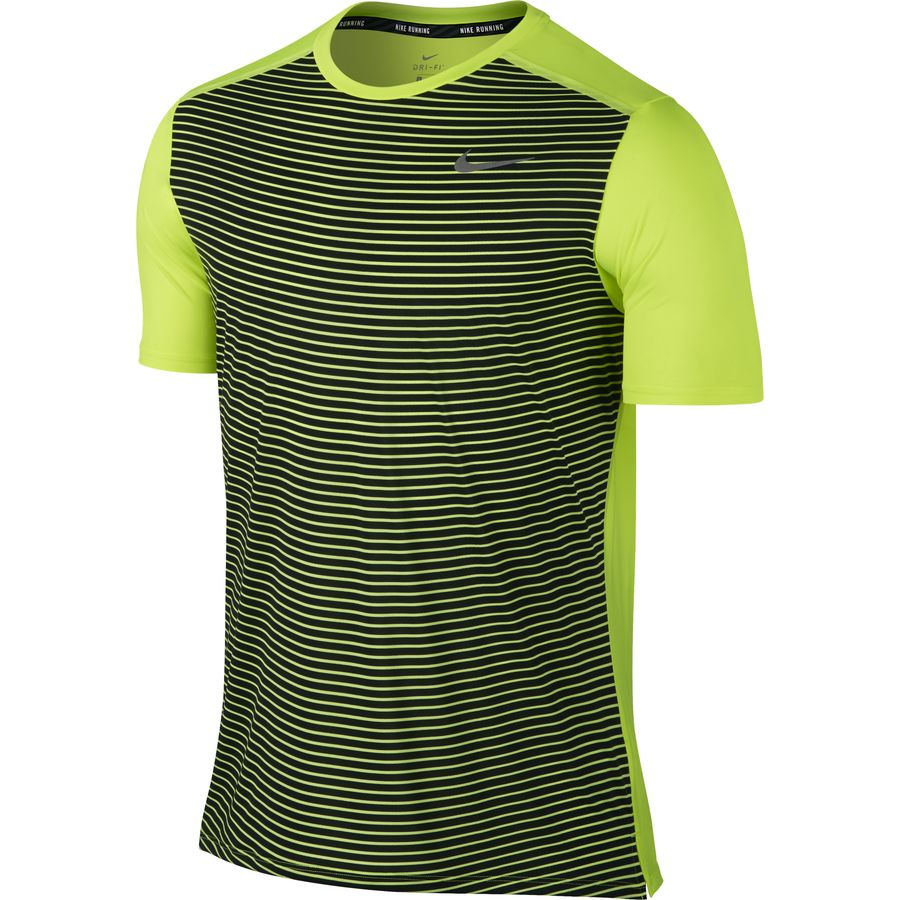 Nike Printed Dri-FIT Running Shirt - Mens