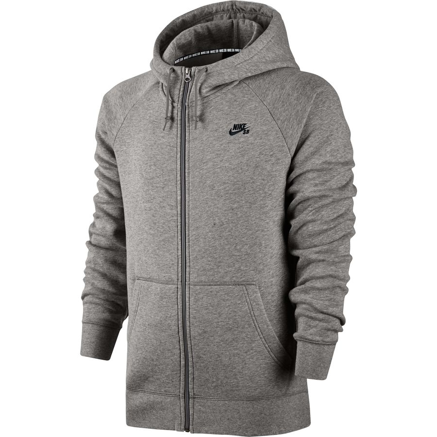 Nike SB Icon Full-Zip Hoodie - Men's | Backcountry.com