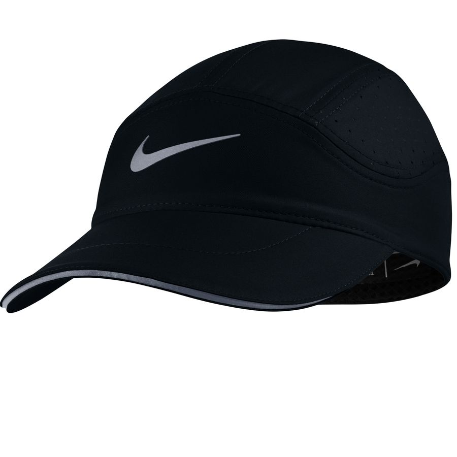 23b8b771ba0 Nike - AeroBill Elite Running Hat - Women s - Black Black