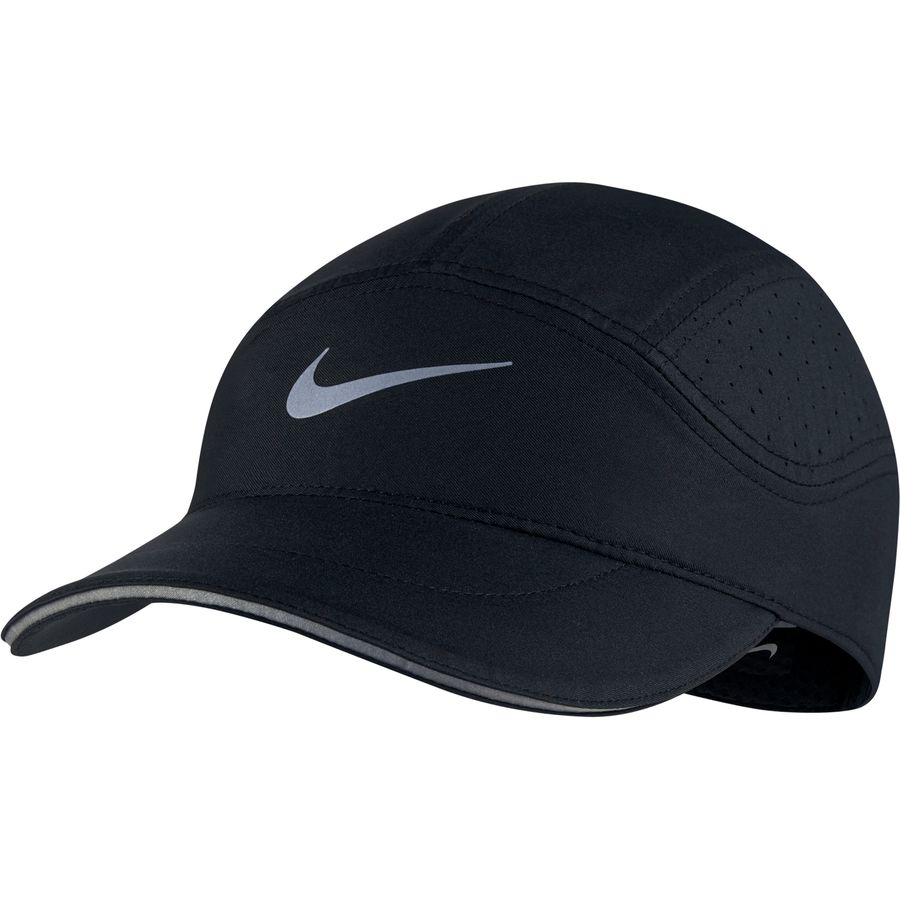 superior quality 7d29f 07ebd Nike - AeroBill Elite Running Hat - Black Black
